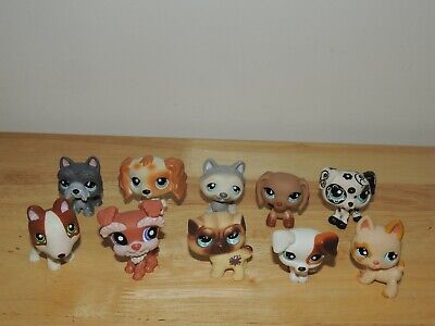 Littlest Pet Shop LPS Big lot of All Different Dogs! Cute!