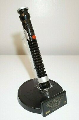 Master Replicas Qui-Gon Jinn Lightsaber Collector's Edition 1:1 Full scale prop