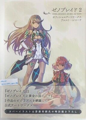 Xenoblade 2 Official Art Works Alst Record Japanese Art Book From Japan