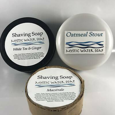 Mystic Water Shaving Soap Bundle (Pre-Owned)