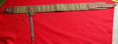 NEAT ORIGINAL WWII Japanese Army Officer Or Nco Sword Belt