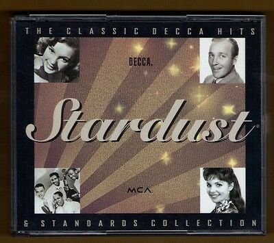 STARDUST cd CLASSIC DECCA HITS & STANDARDS - VARIOUS - 45 TRACKS - 2 DISC SET