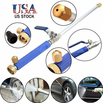 High Pressure Power Hydro Jet Car Washer Water Jet Garden Washer Hose Wand