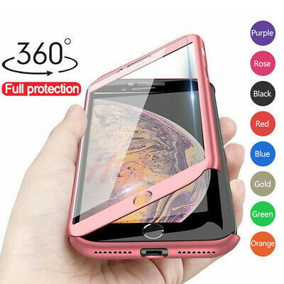 Luxury 360 Phone Case Cover For iPhone XS MAX XR X 6 6s 7 8 Plus 5 5S SE