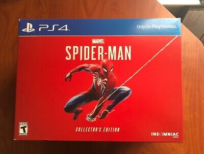 Marvel's Spider-Man PS4 Collectors Edition Brand New & Sealed (NO CONSOLE)