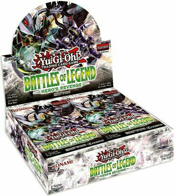 YuGiOh Battles of Legend: Hero's Revenge Booster Box