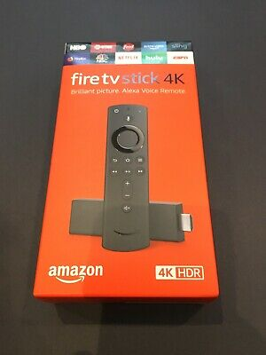Brand New Amazon Fire TV Stick 4K with Alexa Voice Remote (Latest version 2018)