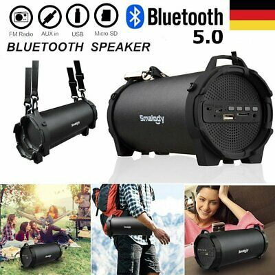 Wireless Bluetooth Lautsprecher 3D Stereo Soundbox Bass Boombox Soundstation AUX