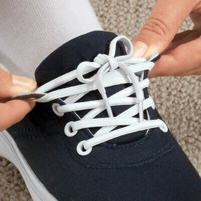 3 pairs Elastic Shoe Laces 81cm Dressing Aid Disability Mobility Stretch Slip on