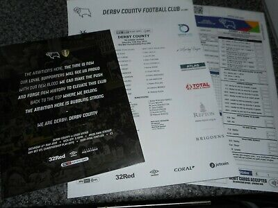 DERBY COUNTY  v  LEEDS UNITED   2018/19  MAY 11  PLAY-OFF S/F 1st + T/S + EXTRA