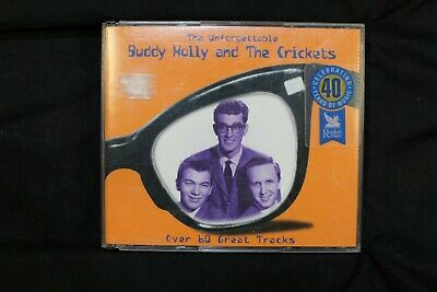 The Unforgettable Buddy Holly And The Crickets  3 CDs  - (C66)