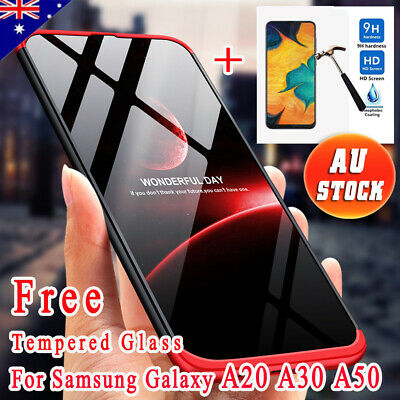 360° Full Body Shockproof Heavy Duty Case Cover For Samsung Galaxy A50 A30 A20