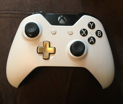 Official Microsoft Xbox One Lunar White Wireless Controller - Spares / Repairs