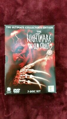 The Nightmare On Elm Street Collection (DVD, 2004, 7-Disc Set, Box Set)
