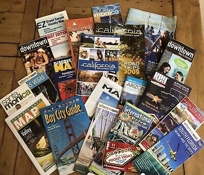 U.S.A Tourist Maps, Guides, Leaflets, Flyers, Holidays (Vegas, Arizona, Californ