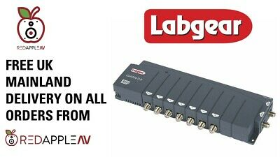 Labgear LDA2061LR 6-Way 2 In 6 Out TV & Radio Distribution Amplifier