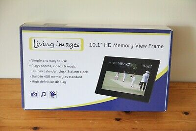 10.1 Inch HD Digital Photo Frame Album Music Movie Player Living Images