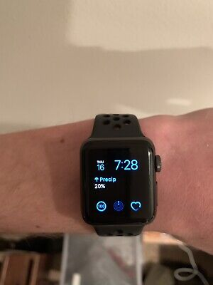 Apple Watch Nike+ 38mm Space Gray Aluminium Case with Anthracite/Black Nike...