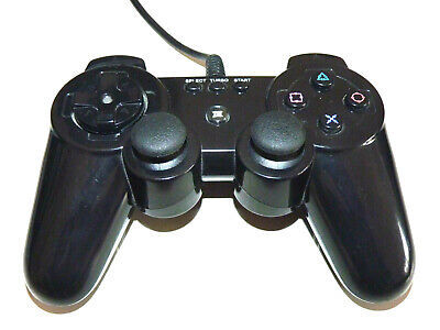 Original Brooklyn Ps3021 Playstation 3 Controller Wired Schwarz Ps3