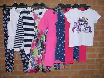 NEXT GAP GEORGE TU etc Girls Bundle Tops Dress Jeans Cardigan Age 7-8 128cm