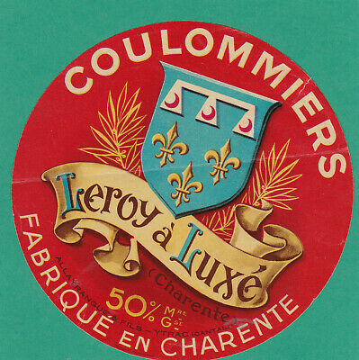 M443 Fromage Coulommiers Leroy Luxe Charente Allayrangue Ytrac Cantal