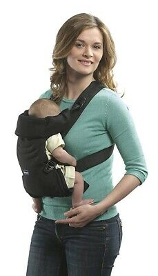 Chicco Easy Fit Duel Facing Baby Carrier Black Night Suitable From Birth - NEW