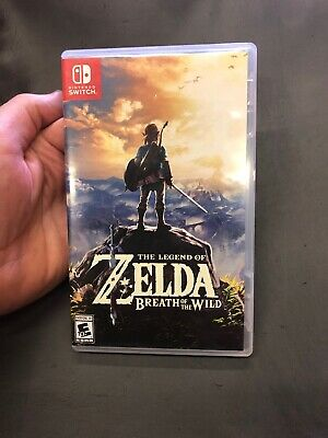 Legend of Zelda: Breath of the Wild (Nintendo Switch, 2017) - Game And Case