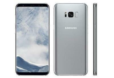 Samsung Galaxy S8 Plus S8+ Sprint 64GB Silver 6.2in G955U LCD Shadow EXCELLENT