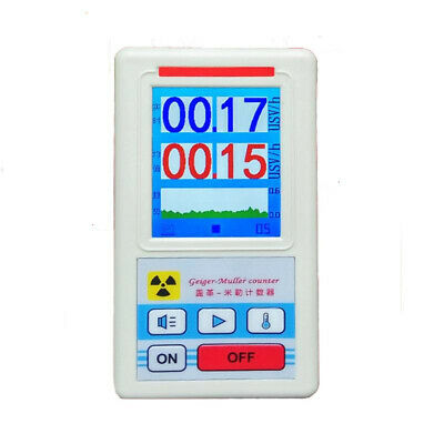 Display Screen Geiger Counter Nuclear Radiation Detector Personal Dosimeter Y3D4