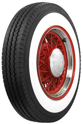 "Coker 600R16 3"" Whitewall Radial Tire"