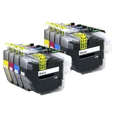 8 x Ink Cartridges ( 2 Sets ) Non-OEM Alternative For Brother - LC3233 - B,C,M