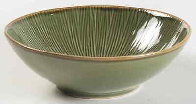 Gibson Designs LOTUS LEAF GREEN Soup Cereal Bowl 4680891