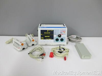 ZOLL M Series Biphasic 3 Lead AED ALS Pacing with USED PADDLES