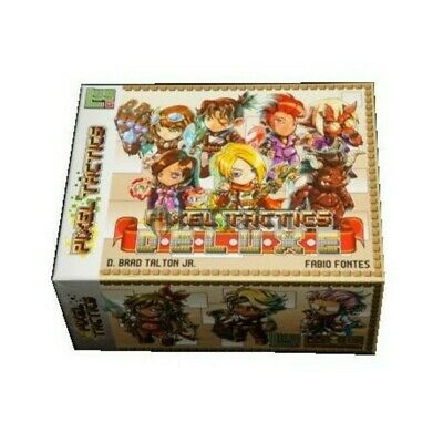 Pixel Tactics Deluxe (Standalone, expansion, storage) - New