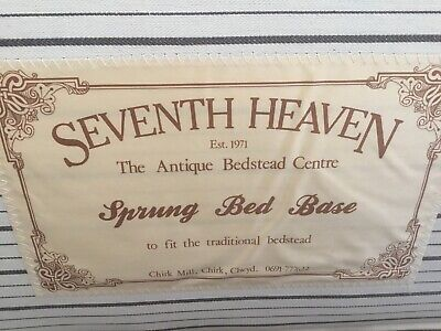 Seventh Heaven Sprung Bed Base For Antique Cast Iron Single Bed