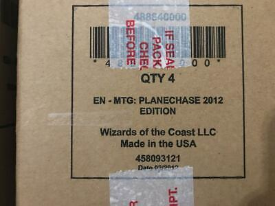 2012 Planechase Magic the Gathering MTG 4 Decks Sealed Case