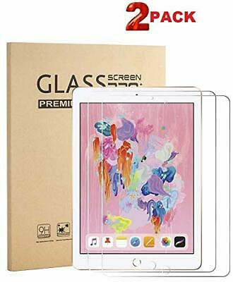 Screen Protector For Apple iPad 9.7 iPad Air 2 iPad Air 1 Tempered Glass 2 PACK