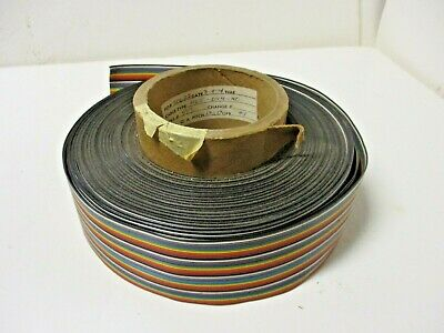 Ribbon Cable Roll Multiwire See Specs in PHotos c 1960's Nixie Clocks other.