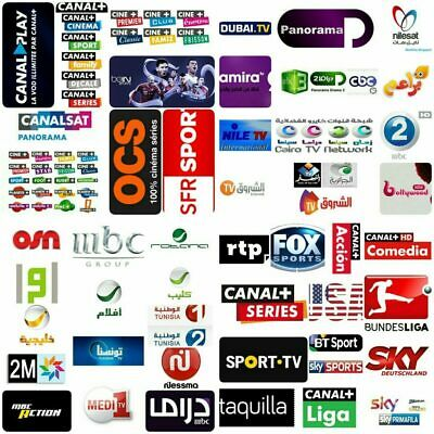 ✅Smart IPTV 12 MOIS 5 000 chaînes❌❌❌ 300 ch ADULTES VOD Android Box M3U Smart TV