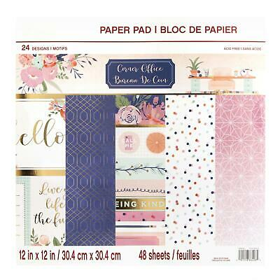 Craft Smith Design-Papierblock 30,4 x 30,4cm (48 Blatt) - Corner Office