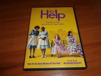 The Help (DVD, Widescreen 2011) Used Viola Davis, EMMA Stone