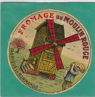 M388 Fromage Du Moulin Rouge Normandie Meunier