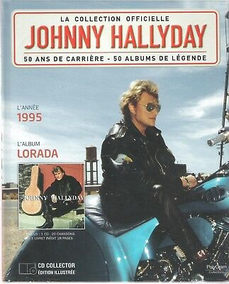 Johnny Hallyday - La Collection Officielle - Lorada - Cd/Livre - Neuf/Blister