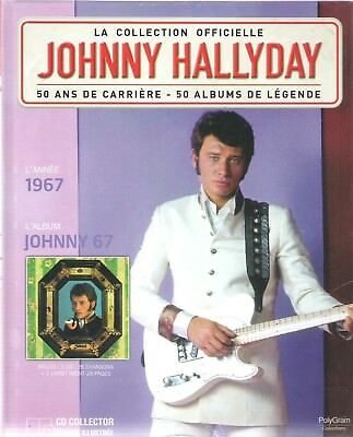 Johnny Hallyday - La Collection Officielle - Johnny 67 - Cd/Livre Neuf/Blister