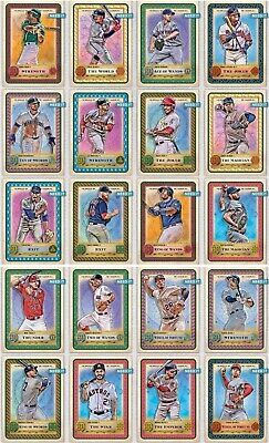 2019 GYPSY QUEEN TAROT OF THE DIAMOND BASE 20 CARD SET Topps BUNT DIGITAL Card