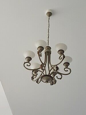 Light fittings large chandelier style. 12 units . Suit pub, club, winery .