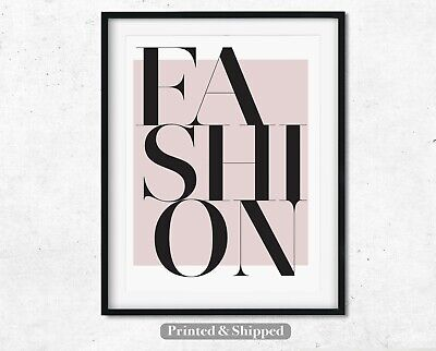 Fashion Wall Art Print,Pink Home Decor,Beauty Room,Posters,Bedroom,Living Room