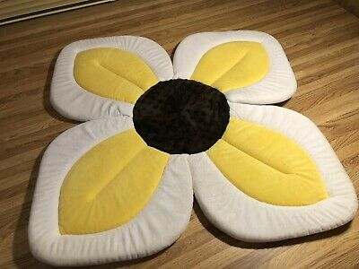 Blooming Bath for Babies , No Packaging , Bathing Mat, Flower Bath, Yellow Daisy