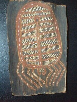 Superb And Traditional Bark Painting, Northern Australia