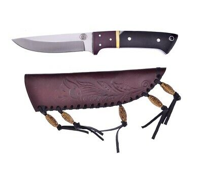 Chipaway Hunting Knife with Leather Belt sheath